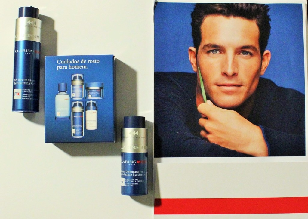 Products Clarins offered on the event of Gentleman's Journal!