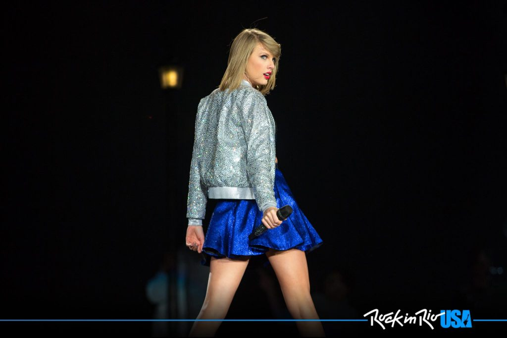 Taylor Swift at Rock in Rio USA  Credits | Rock in Rio USA