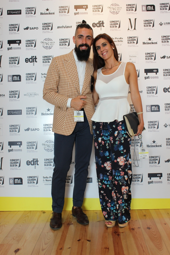 Alfaiate Paulo Batista & his wife Susana for D'Oliveira Fashion Blog Photo | Sónia Saraiva