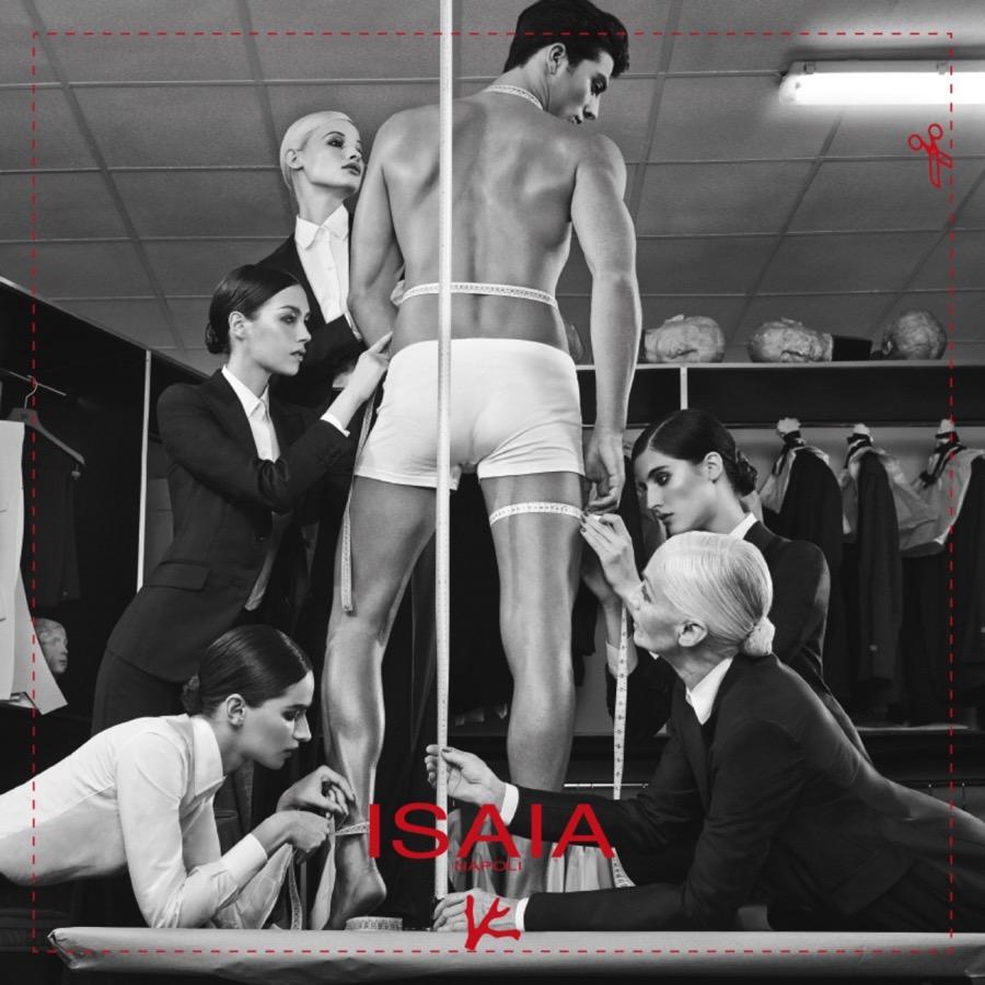 Spornosexual representation | ISAIA SS15