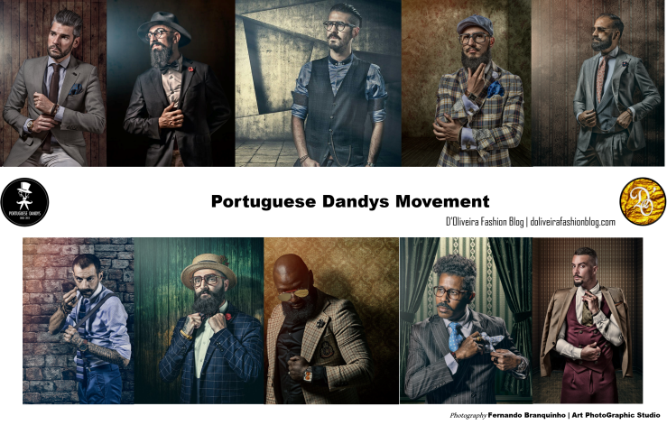 Some Members of the Portuguese Dandys Movement |Photo credits: Fernando Branquinho, Art PhotoGraphic Studio