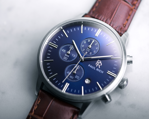 PAUL RICH | Chrono Blue Silver
